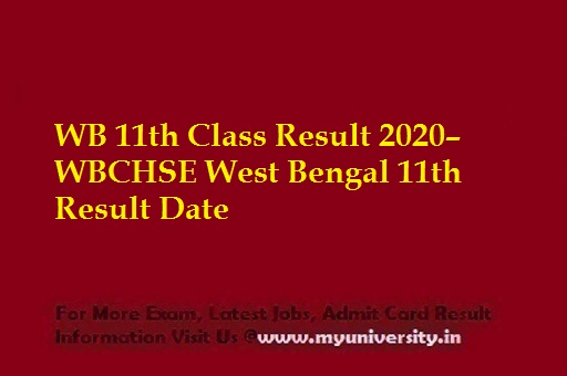 WB Class 11th Result 2020