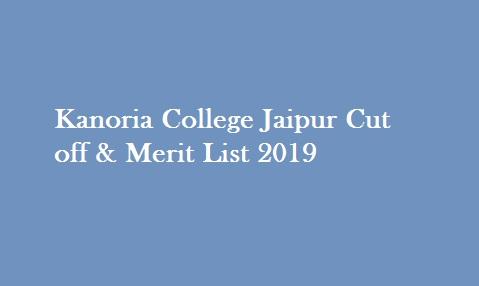 Kanoria College 2nd Cut off 2019