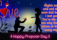 Happy Propose Day 2020 Wishes