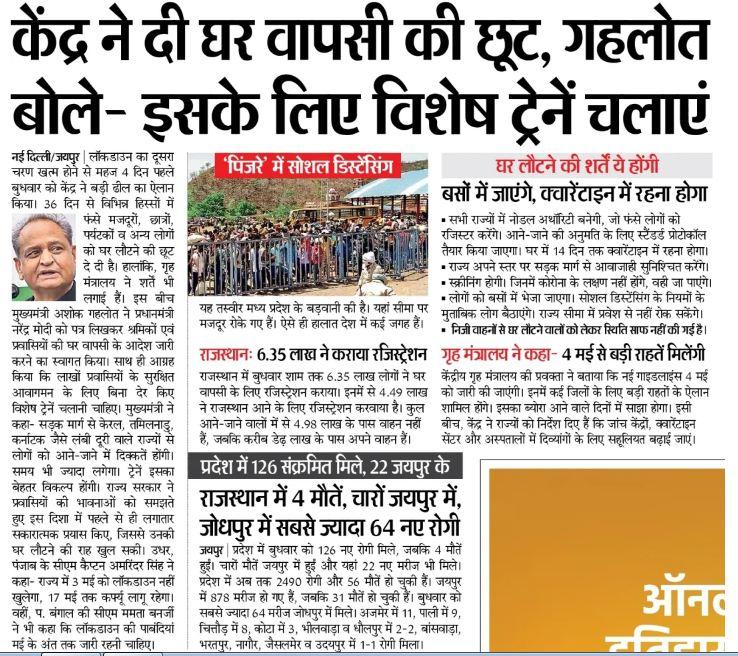 Rajasthan Pravasi Migrant Registration
