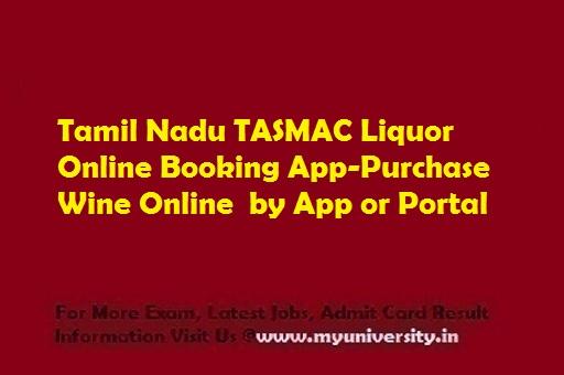 Tamil Nadu TASMAC Liquor Online Booking App