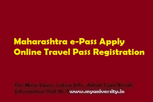 Maharashtra e Pass Apply Online