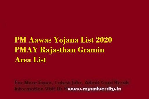 PM Aawas Yojana List 2020