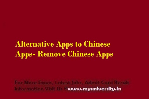 Alternative Apps to Chinese Apps