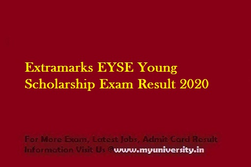 Extramarks EYSE Young Scholarship Exam Result 2020