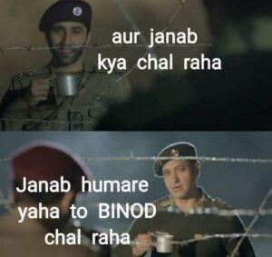 Who is Binod