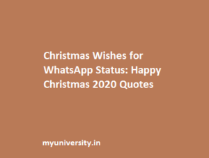Christmas Quotes for Whatsapp Status